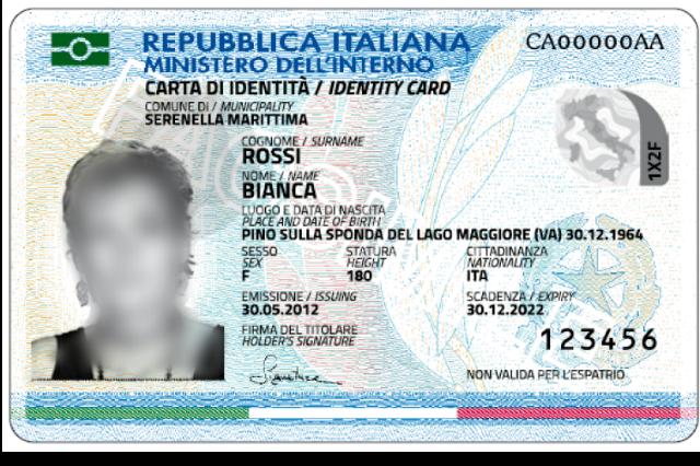 Rilascio della carta di identità elettronica (CIE) / Rilascio della ...
